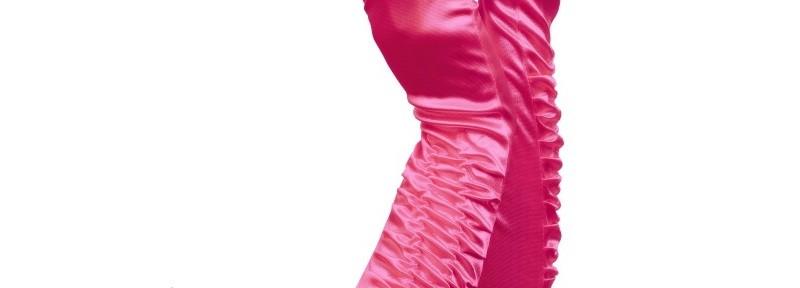 Pinke Brauthandschuhe für den Junggesellinnenabschied