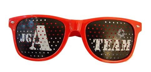Pinhole Glasses JGA-Team für den Junggesellenabschied